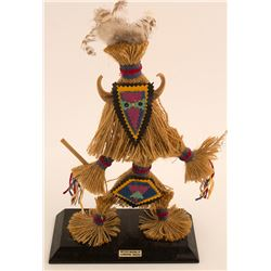 Vintage Fiber Warrior Dancer