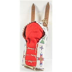 Cheyenne Beaded Cradleboard