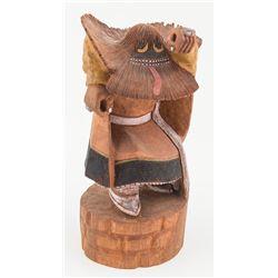 Ogre Kachina by Reyes Kootswatewa