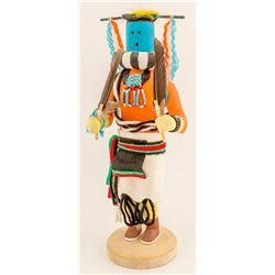 Zuni Wood Carrier by Ben Seciwa, #2
