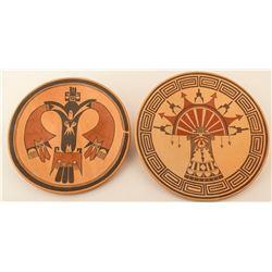Two Hopi Plates