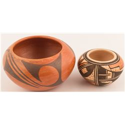 Two Vintage Hopi Pots