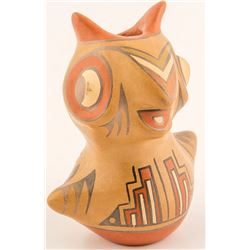 Owl Pot, Margaret & Luther Gutierrez