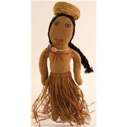Vintage Hawaiian Doll