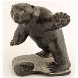Polar Bear Sculpture, Levi Alasuak