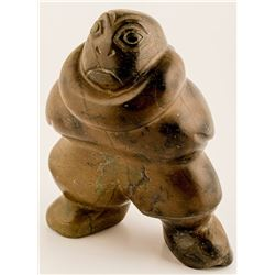 Stylized Inuit Sculpture