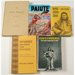Five Books on Nevada Native Americans