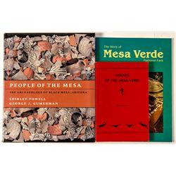 Three Books on Mesa Verde