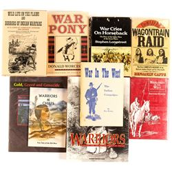 9 Indian Wars and Warriors Books