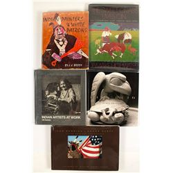 Native American Artist Books