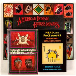 Three Books on Native American Masks