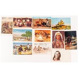 Native American Postcard Group