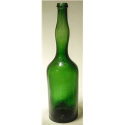 Emerald Green Bitters Bottle