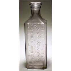 J. A. Nuller Medicine Bottle (Carson City, NV)
