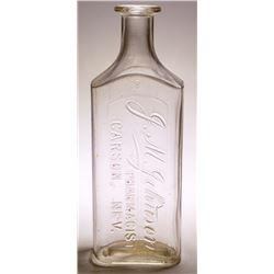 J.M. Johnson Medicine Bottle (Carson City, NV)