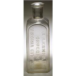 A. Lernhart Medicine Bottle (Virginia City, NV)