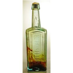J. C. Rushton's Cod Liver Oil Bottle