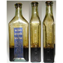 Dalton's Sarsapirilla and Nerve Tonic Bottle (Maine)