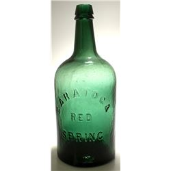 Saratoga Red Spring Water Bottle