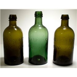 3 Clarke & Co. Water Bottles