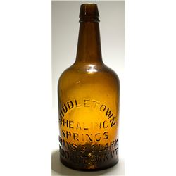Middletown Healing Springs, Amber Mineral Water