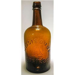 Missisquoi Springs Mineral Water Bottle
