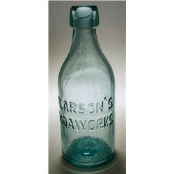 Pearson's Sodaworks Bottle
