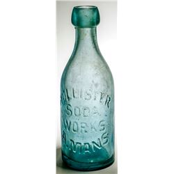 Hollister Soda Works Bottle