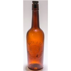 Roth & Co. Amber Whiskey with Screw Top