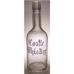 Castle Whiskey Back Bar Bottle