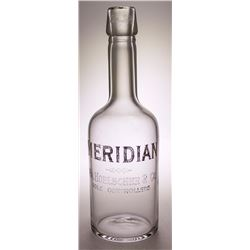Meridian Whiskey Back Bar Bottle