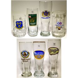 29 Mostly German Beer Glasses