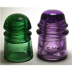 Two Colorful Insulators
