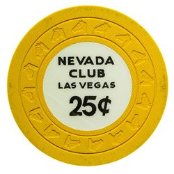 Nevada Club Las Vegas 25c Gaming Chip