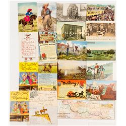Cowboy Postcards Balance Lot