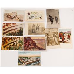 Cowboys and Firearms Postcard Collection