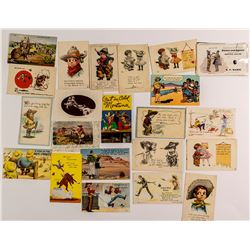 Humorous Cowboy Postcards