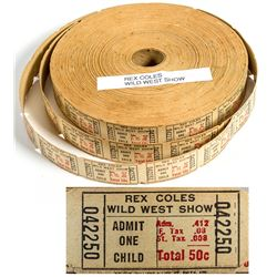 Rex Coles Wild West Show Tickets in Roll