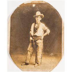 Wild West Show Cowboy Photo