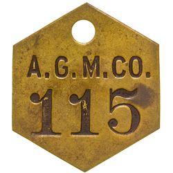 Gastineau Mining Co. Tool Tag (Silver Bow Basin, Alaska)