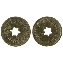 Butte Saloon Token (Bisbee, Arizona)