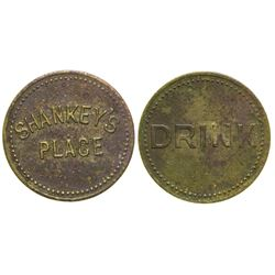 Shankey's Place Token (Courtland, Arizona)