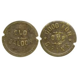 Old Saloon Token (Gleeson, Arizona)