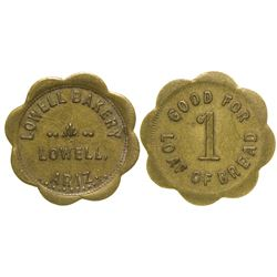 Lowell Bakery Token (Lowell, Arizona)