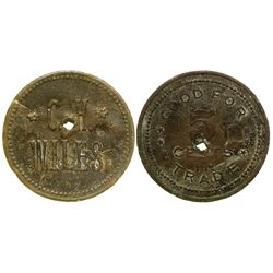 C.H. Wiles Token (Pearce, Arizona)