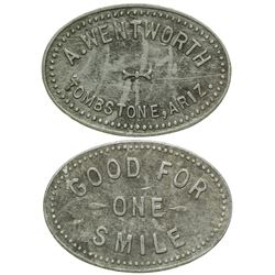 A. Wentworth Token (Tombstone, Arizona)