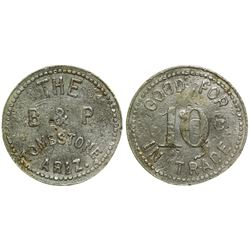 B & P Token (Tombstone, Arizona)