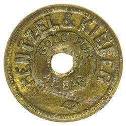 Hentzel & Kibfer Token (Tombstone, Arizona)