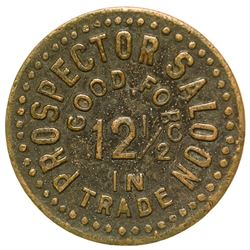 Prospector Saloon Token (Tombstone, Arizona)