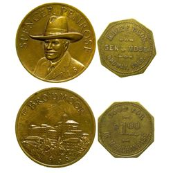 Ordway, Colorado Token and Medal